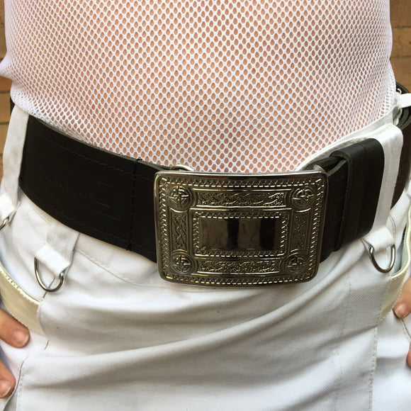 Celtic Removable Buckle Kilt Belt