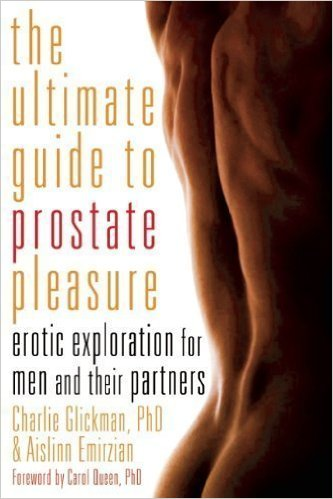 The front cover of Ultimate Guide to Prostate Pleasure: Erotic Exploration for Men and Their Partners.