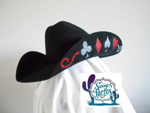 Custom Design Felt Cowboy Hat