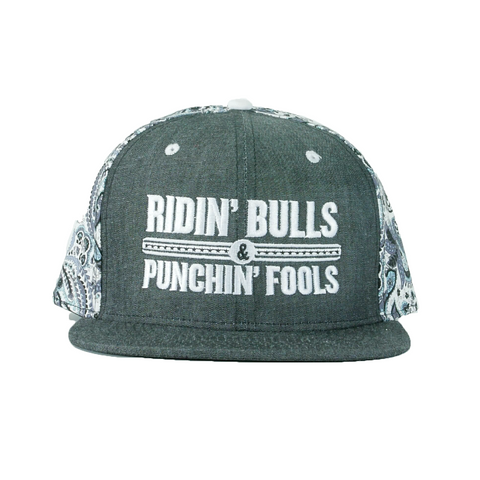 Dale Brisby Ridin Bulls and Punchin Fools Snapback Cap