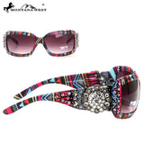 Montana West Aztec Bling Concho Sunglasses