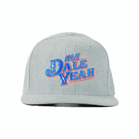 Dale Brisby Well Dale Yeah Snapback Cap