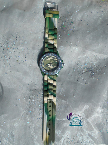 Camo Bling Watch