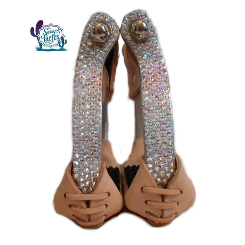bling barrel racing stirrups rhinestones