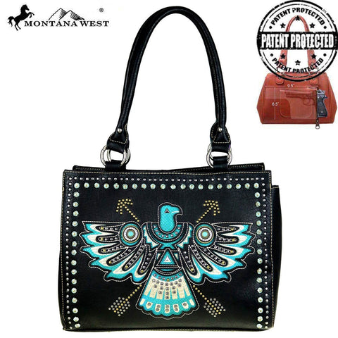Montana West Thunderbird Concealed Carry Handgun Western Handbag