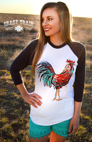 Rule the Roost Baseball Tee