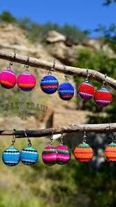 Serape Woven Earrings