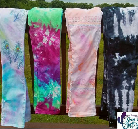 In Stock Dyed Jeans