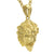 Nemean Lion Gold Pendant & Necklace