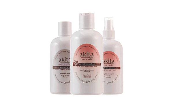 Herbal Hair Care Set - Akita Natural Canada