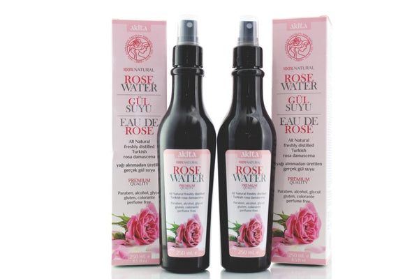 Rose Water 2 X 250mL- Antioxidant Face Toner