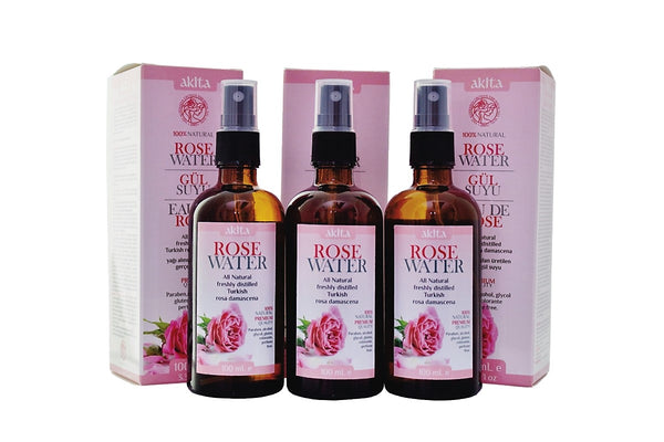 Rose Water 3X100mL