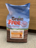 Tommy's Grain Free Complete Dry Food Turkey