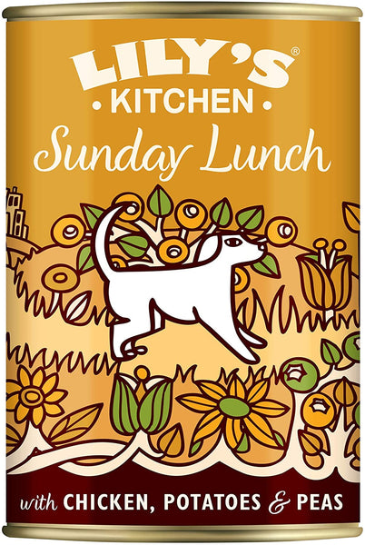 Lily's Kitchen Sunday Lunch for Dogs 400g