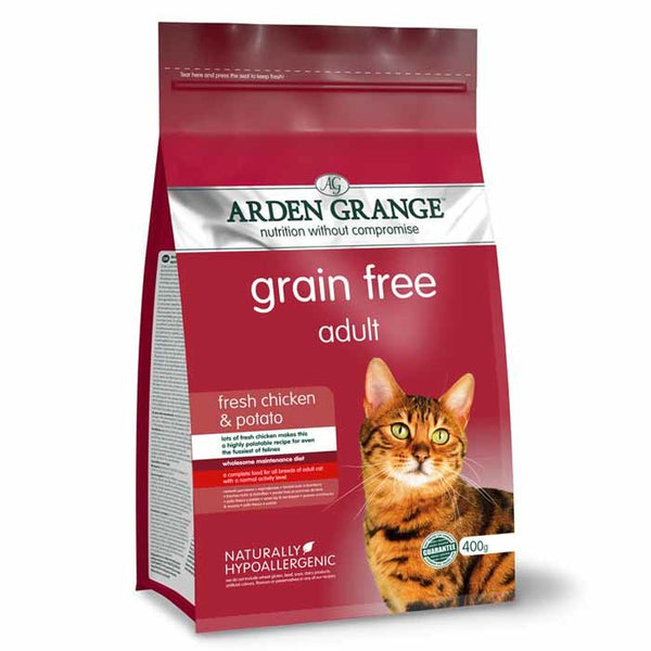 Arden Grange Grain Free Adult Cat Fresh Chicken & Potato 2kg
