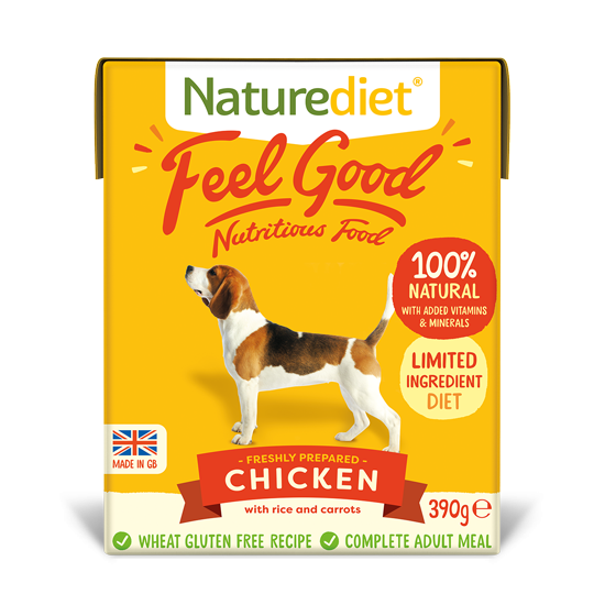 Naturediet Feelgood Chicken with Rice and Carrots 390g