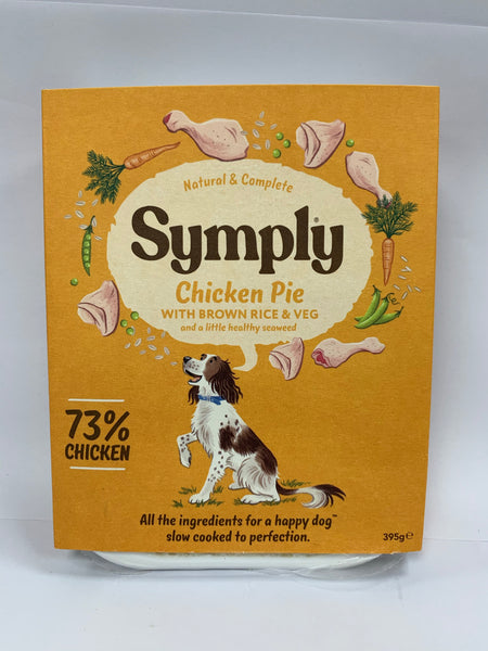 Symply Chicken Pie 395g