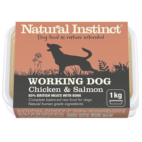 Natural Instinct Working Chicken & Salmon