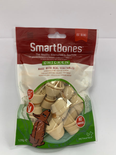 SmartBones Mini bones chicken x 8