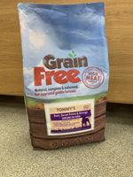 Tommy's Grain Free Dry Complete Food Duck