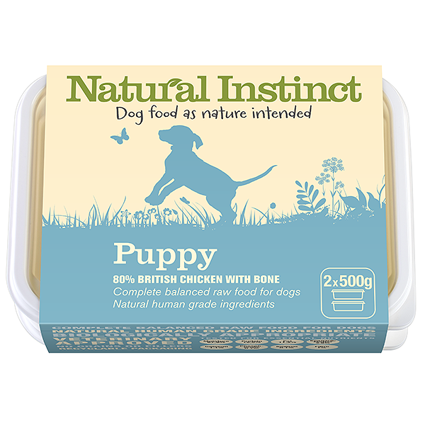 Natural Instinct Puppy Chicken 2x 500g