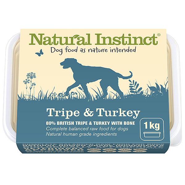 Natural Instinct Tripe and Turkey 1 Kg
