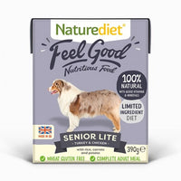 Naturediet Senior/Lite Turkey and Chicken with Vegetable and Rice 390g
