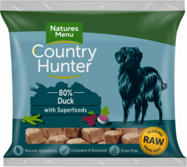 Natures Menu Country Hunter Raw Nugget Duck 1kg