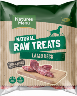 Natures Menu Raw Frozen Chews Lamb Neck Bone 1 pce