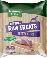 Natures Menu Dog Raw frozen Chews Turkey Neck 2 pce