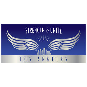 Load image into Gallery viewer, Los Angeles Sticker - Blue