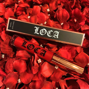 LOCA MATTE RED LIQUID LIPSTICK