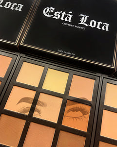 ESTA LOCA Powdered Contour palette
