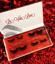 Load image into Gallery viewer, LA VIDA LOCA 4 PK LASH VAULT