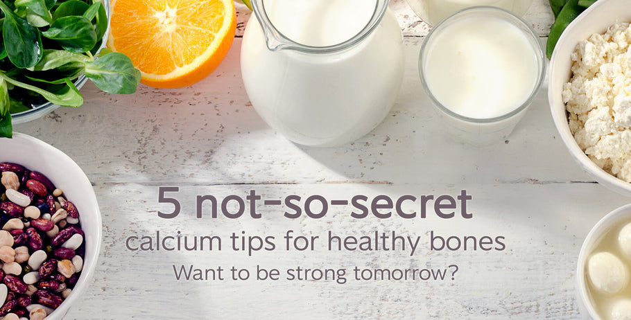 Calcium tips for healthy bones