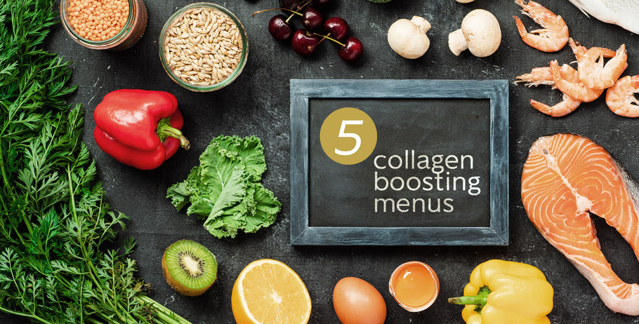Reveal your youthful looking skin with 5 collagen boosting menus