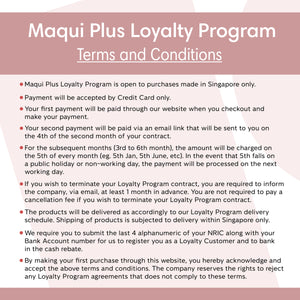 Loyalty Program (6 Months) - Maqui Plus Botanical Beverage Mix (2 Bottles)
