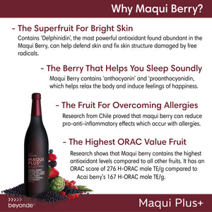 Loyalty Program (6 Months) - Maqui Plus (2 Bottles) with 1 Box Lifesential