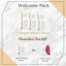Load image into Gallery viewer, Welcome Pack: 6 Boxes Collagen Matrix