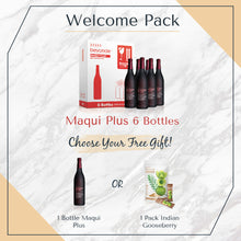 Load image into Gallery viewer, Welcome Pack: 6 Bottles Maqui Plus