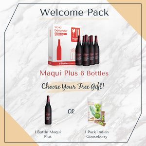 Welcome Pack: 6 Bottles Maqui Plus