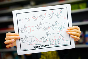 How To Draw 50 Dinosaurs