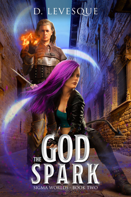 LitRPG Book Release | Sigma Worlds: Book 2 - The God Spark by D. Levesque