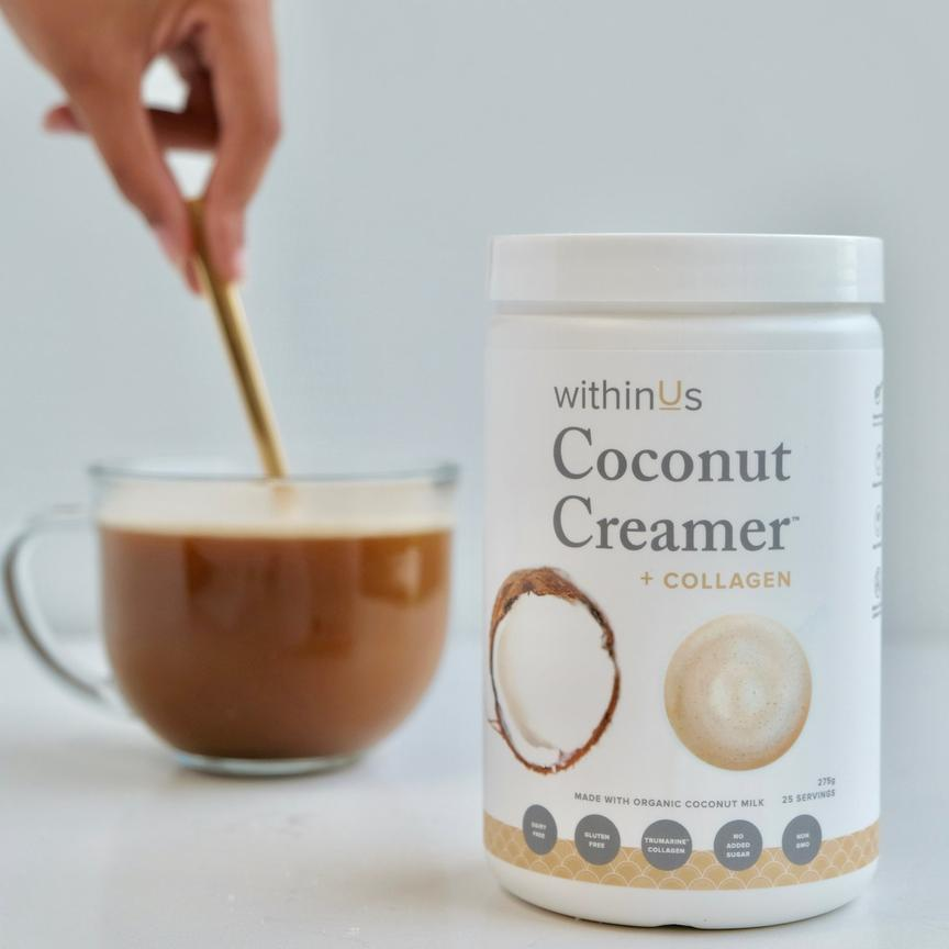 COLLAGEN POWERED™ COCONUT LATTE RECIPE  from WithinUs