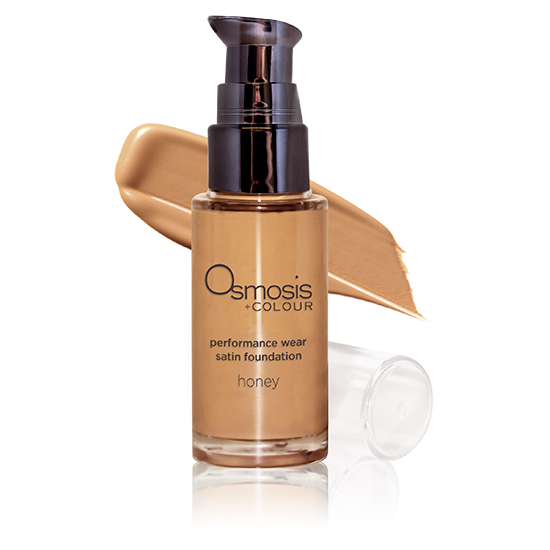 Osmosis+Beauty Satin Foundation - Honey