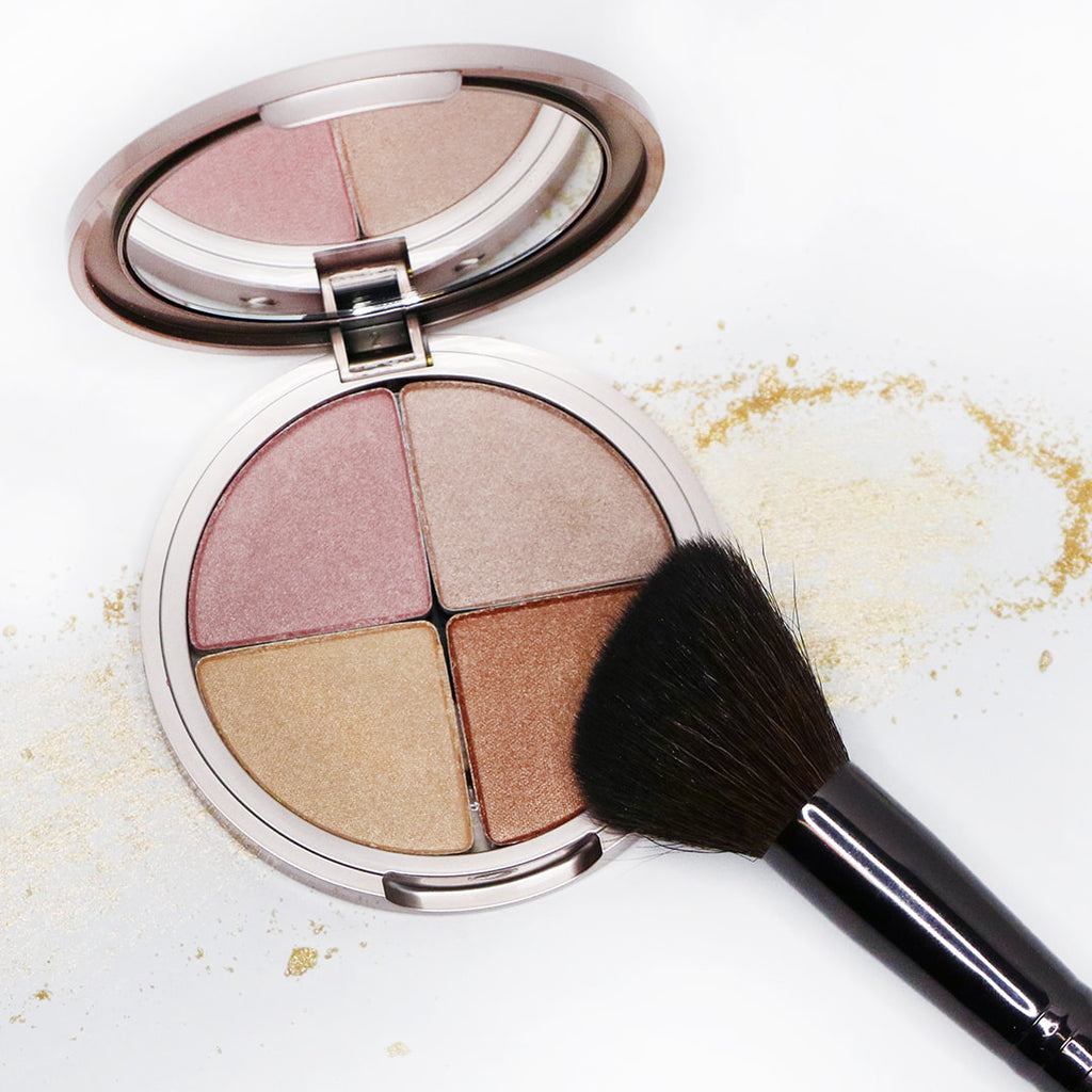 Osmosis+Beauty Mineral Highlighter Quad