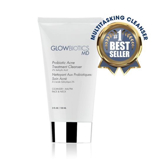Glowbiotics MD Acne Treatment Cleanser