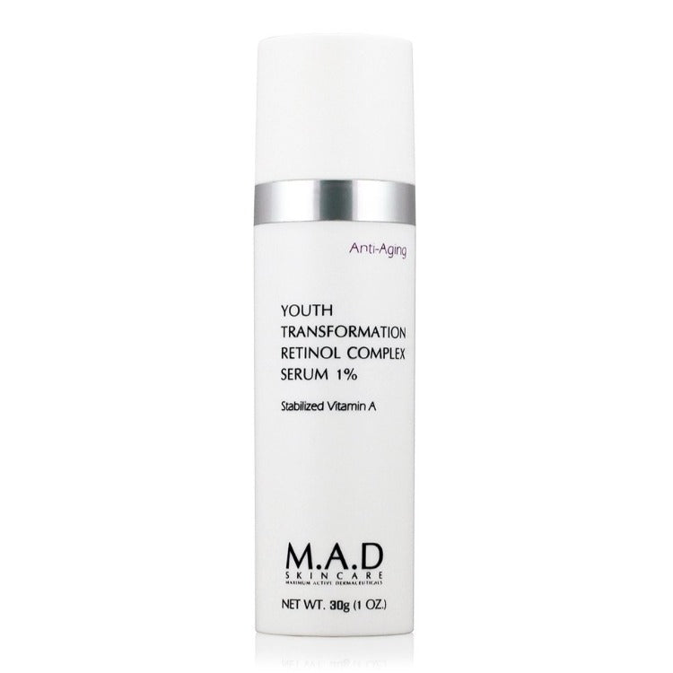 M.A.D Skincare Youth Transformation Retinol Complex Serum 1%