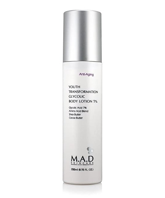 M.A.D Skincare Youth Transformation Glycolic Body Lotion 7%
