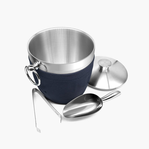 https://fortune-candy.com/collections/ice-bucket/products/fortune-candy-insulated-ice-bucket-double-walled-stainless-steel-ice-bucket-with-ice-tongs-scoop-lid-and-exclusive-handmade-nylon-holder-2-8-l-silver-navy-blue